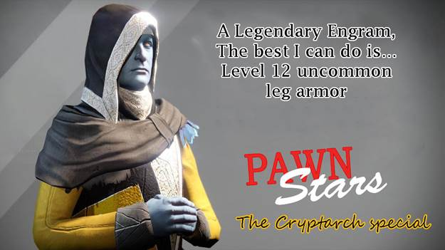 Cryptarch life Pawn