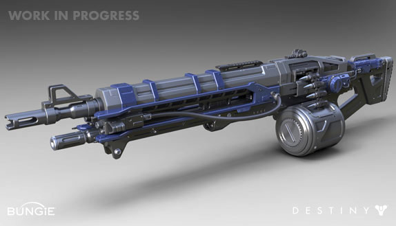 meet the thunderlord machine gun from destiny
